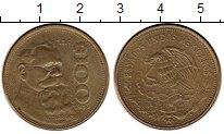 Изображение Монеты Мексика 100 песо 1985 Латунь VF