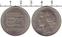 Изображение Монеты Европа Португалия 25 эскудо 1980 Медно-никель XF