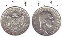Изображение Монеты Европа Албания 1 франгар 1937 Серебро XF