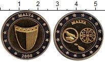 Изображение Монеты Мальта Жетон 2008 Биметалл UNC-