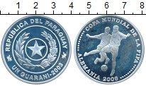 Изображение Монеты Южная Америка Парагвай 1 гуарани 2003 Серебро Proof-