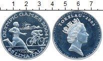 Изображение Монеты Токелау 5 тала 2003 Серебро Proof-