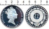 Изображение Монеты Австралия 5 долларов 2000 Серебро Proof- Олимпийские игры