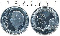 Изображение Монеты Европа Бельгия 20 евро 2005 Серебро Proof-