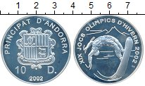 Изображение Монеты Европа Андорра 10 динерс 2002 Серебро Proof-