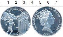 Изображение Монеты Австралия и Океания Соломоновы острова 10 долларов 2004 Серебро Proof-