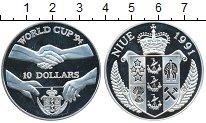 Изображение Монеты Новая Зеландия Ниуэ 10 долларов 1991 Серебро Proof-