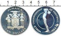 Изображение Монеты Северная Америка Ямайка 10 долларов 1982 Серебро Proof-