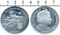 Изображение Монеты Остров Мэн 1 крона 2005 Серебро Proof- Чемпионат Мира по фу