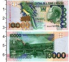Продать Банкноты Сан-Томе и Принсипи 10000 добрас 2004