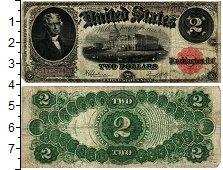 Изображение Банкноты Северная Америка США 2 доллара 1917  VF