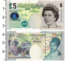 Изображение Банкноты Европа Великобритания 5 фунтов 2002  UNC