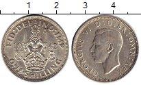 Изображение Монеты Великобритания 1 шиллинг 1942 Серебро XF- Георг VI