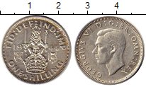 Изображение Монеты Европа Великобритания 1 шиллинг 1944 Серебро XF-