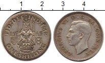 Изображение Монеты Великобритания 1 шиллинг 1945 Серебро XF- Георг VI