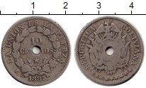 Изображение Монеты Боливия 10 сентаво 1883 Медно-никель VF+