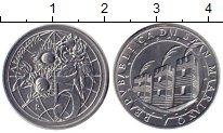 Изображение Монеты Сан-Марино 5 лир 1992 Алюминий UNC