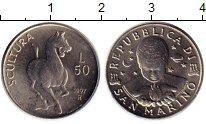 Изображение Монеты Сан-Марино 50 лир 1997 Медно-никель UNC