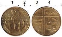 Изображение Монеты Ватикан 200 лир 1983 Латунь UNC