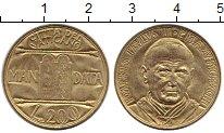 Изображение Монеты Европа Ватикан 200 лир 1993 Латунь UNC