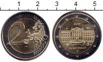 Изображение Мелочь Германия 2 евро 2019 Биметалл UNC