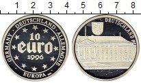 Изображение Монеты Европа Германия 10 евро 1996 Серебро Proof
