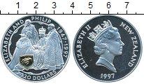 Изображение Монеты Новая Зеландия 20 долларов 1997 Серебро Proof
