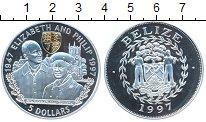 Изображение Монеты Белиз 5 долларов 1997 Серебро Proof