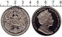 Изображение Мелочь Сендвичевы острова 2 фунта 2019 Медно-никель UNC Елизавета II