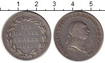 Изображение Монеты Германия Гессен-Дармштадт 1/2 талера 1819 Серебро XF-