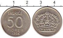 Изображение Монеты Европа Швеция 50 эре 1956 Серебро XF