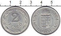 Изображение Монеты Европа Венгрия 2 пенго 1943 Алюминий XF