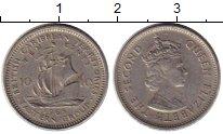 Изображение Монеты Великобритания Карибы 10 центов 1965 Медно-никель VF