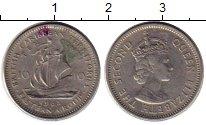 Изображение Монеты Карибы 10 центов 1965 Медно-никель VF Елизавета II