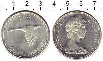 Изображение Монеты Северная Америка Канада 1 доллар 1967 Серебро UNC-