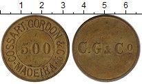 Изображение Монеты Мадейра 500 рейс 0 Латунь XF
