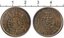 Изображение Монеты Португальская Индия 1 эскудо 1959 Медно-никель XF