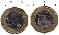 Изображение Монеты Африка Сьерра-Леоне 500 леоне 2004 Биметалл UNC-