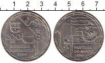 Изображение Мелочь Европа Португалия 200 эскудо 1994 Медно-никель UNC-