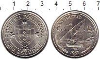 Изображение Мелочь Португалия 100 эскудо 1987 Медно-никель UNC-