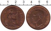 Изображение Монеты Великобритания 1 пенни 1937 Бронза XF+
