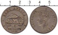 Изображение Монеты Восточная Африка 1 шиллинг 1952 Медно-никель XF Георг VI