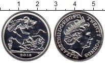 Изображение Монеты Европа Великобритания 20 фунтов 2013 Серебро UNC