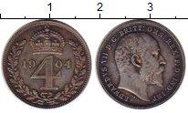 Изображение Монеты Великобритания 4 пенса 1904 Серебро Prooflike