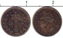 Изображение Монеты Европа Великобритания 1 пенни 1829 Серебро XF