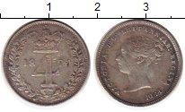 Изображение Монеты Европа Великобритания 4 пенса 1870 Серебро XF