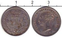 Изображение Монеты Европа Великобритания 4 пенса 1863 Серебро VF