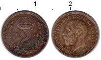 Изображение Монеты Европа Великобритания 2 пенса 1934 Серебро Prooflike