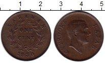 Изображение Монеты Малайзия Саравак 1 цент 1930 Медь XF
