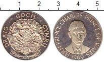 Изображение Монеты Европа Великобритания Жетон 1969 Серебро Proof-